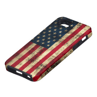 Distressed Grunge American Flag iPhone 5 Cover