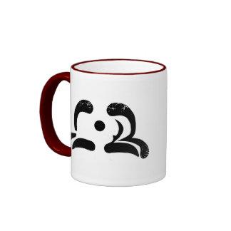Distressed Logo Ringer Mug