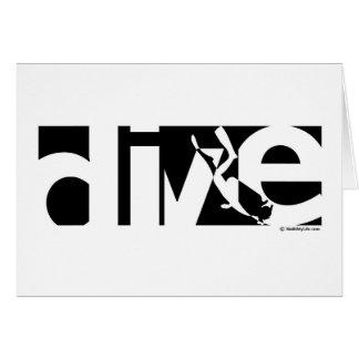 Dive Greeting Card