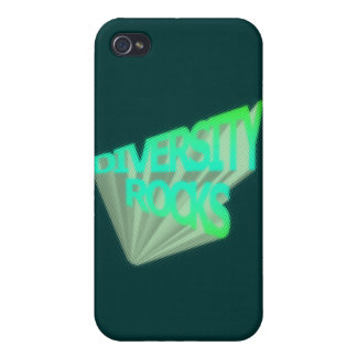Diversity Rocks Cover For iPhone 4