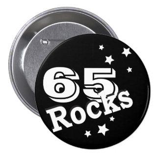 DIY Age | Birthday Rocks 7.5 Cm Round Badge