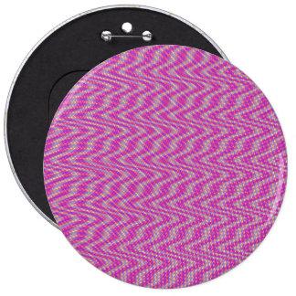 Dizzy Pink 6 Cm Round Badge