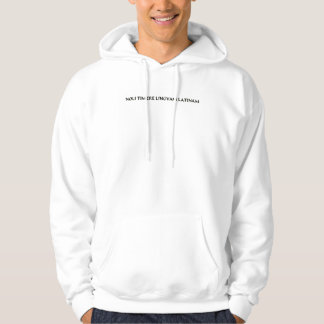 Do not fear the Latin Language (2) Hooded Sweatshirt