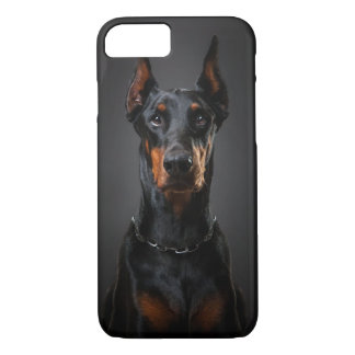 Doberman iPhone 7, Barely There iPhone 7 Case