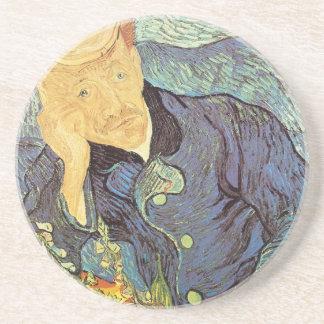 Doctor Gachet Portrait by Vincent van Gogh Coasters