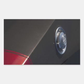 Dodge Charger Fuel cap Rectangular Sticker