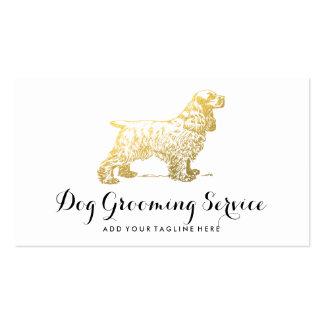 DOG CARE BUSINESS   DOG LOVER PACK OF STANDARD BUSINESS CARDS