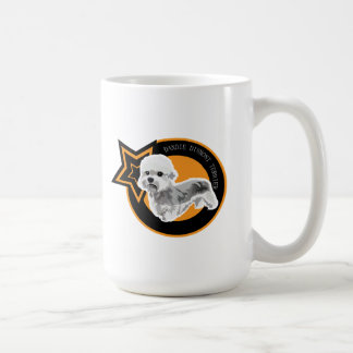Dog DANDIE DINMONT TERRIER Basic White Mug
