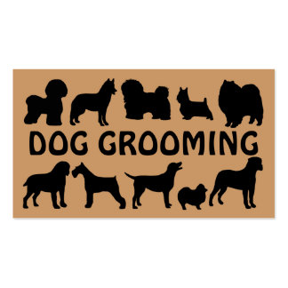 Dog Groomer Fun Business Card