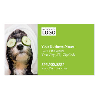 Dog Grooming Business Card-Spa2 Pack Of Standard Business Cards