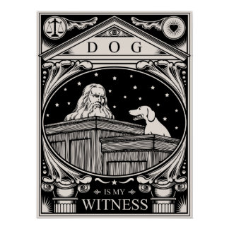 Dog Is My Witness Poster