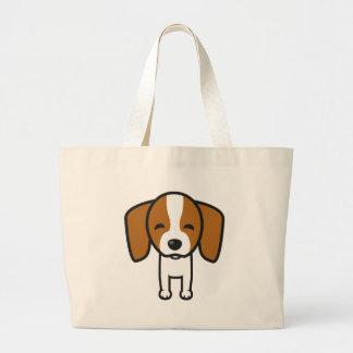 Dog Jumbo Tote Bag