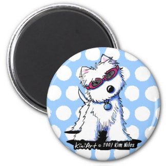 Doggles Westie Magnet