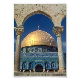 """Dome of the rock, Jerusalem"" 5x7 print Photograph"