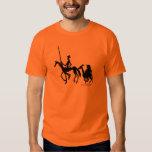 Don Quixote and Sancho Panza graphic art t-shirt