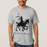 Don Quixote y Rocinante t-shirt