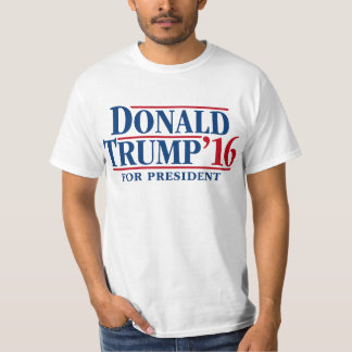 Donald Trump '16 for president T-shirt