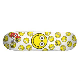 Done In Extreme Smile Skateboard