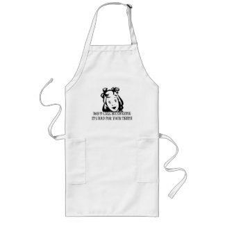 Dont Call Me Sweetie - It's Bad For Your Teeth Long Apron