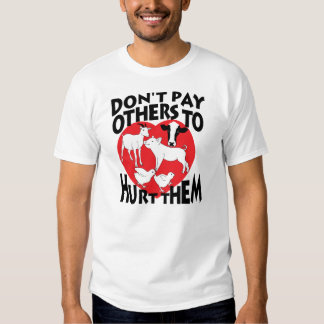 Don't pay others to hurt them tee shirt