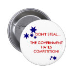 Don't Steal! 6 Cm Round Badge
