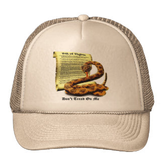 Don't Tread On Me Bill of Rights Cap
