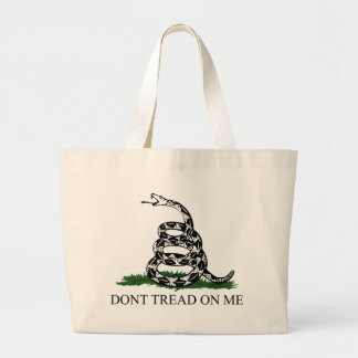 Don't Tread on Me Jumbo Tote Bag