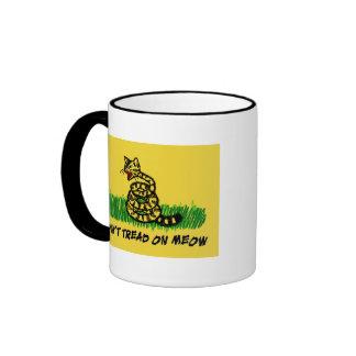 Don't Tread on Meow Ringer Mug