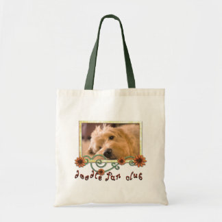Doodle Fan Club Customizable Photo Budget Tote Bag