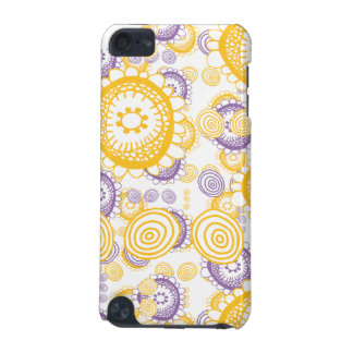 Doodle Flowers ipod touch case