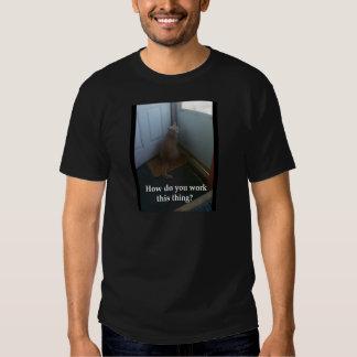 Door Cat T Shirt