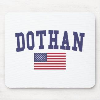 Dothan US Flag Mouse Pad