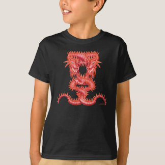 Double Red Dragon T Shirt