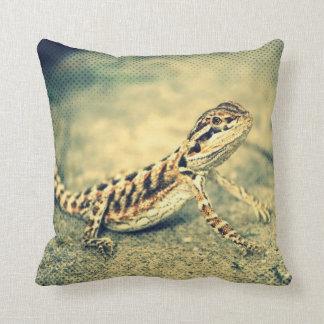double sided bearded dragon (lizard) pillow cushions