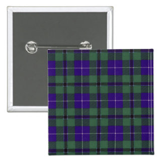 Douglas clan Plaid Scottish tartan 15 Cm Square Badge