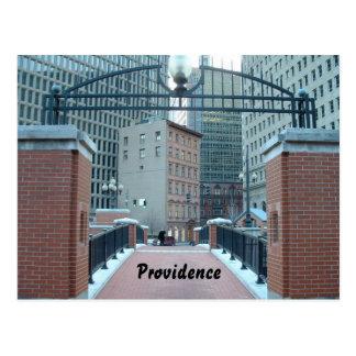 Downtown Providence, Postcard