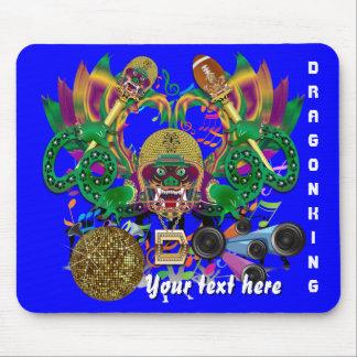 Dragon Football Mardi Gras Please View Hints Mouse Pad