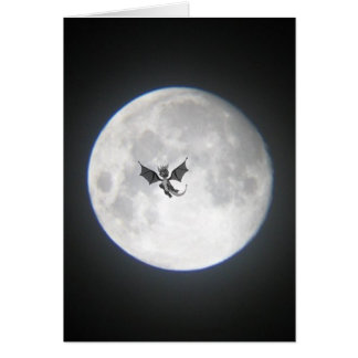 Dragon in the Moonlight Greeting Card