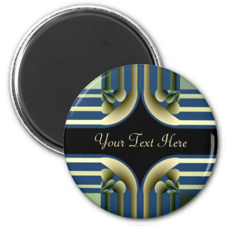 Dramatic! Colorful Abstract 6 Cm Round Magnet