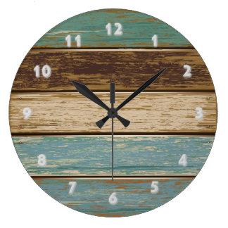 Driftwood 2 Wall Clock