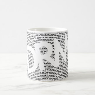 DRM: Don't Restrict Me (REMIX) Basic White Mug