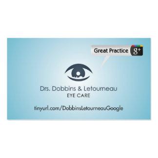 Drs. Dobbins & Letourneau Pack Of Standard Business Cards