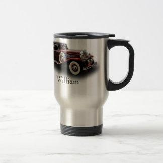 Duesenberg (Duesy) Model J Classic Car Stainless Steel Travel Mug