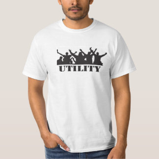 Dundee Utility Casual t-shirt,80's hooligan theme. T Shirt
