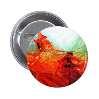 Dune Art - Original Abstract Art Decorative Modern 6 Cm Round Badge