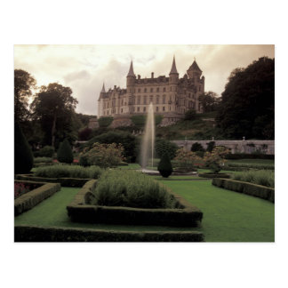 Dunrobin Castle, Scotland Postcard
