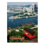 Duquesne Incline, Pittsburgh, Pennsylvania Postcard