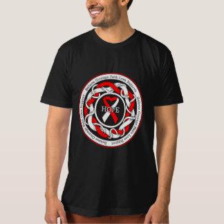 DVT Hope Intertwined Ribbon Tee Shirts