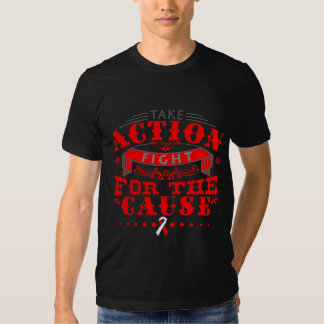 DVT Take Action Fight For The Cause T Shirts
