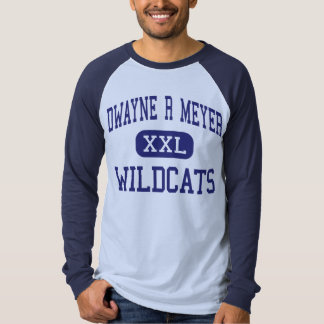 Dwayne R Meyer Wildcats Middle River Falls T-shirts